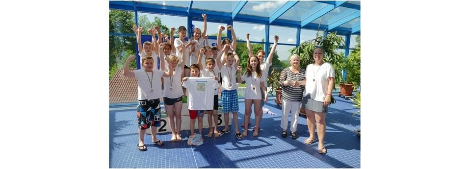 1. Schwimmbadcup Friedrichsthal. die Sieger!